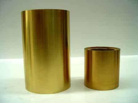 150mm and 300mm brass shim rolls