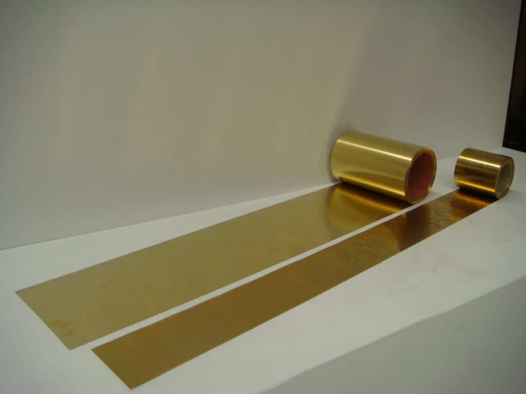 brass shim rolls