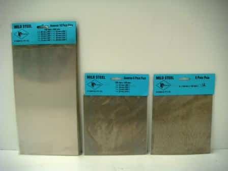 304 and 316 stainless steel shim packets