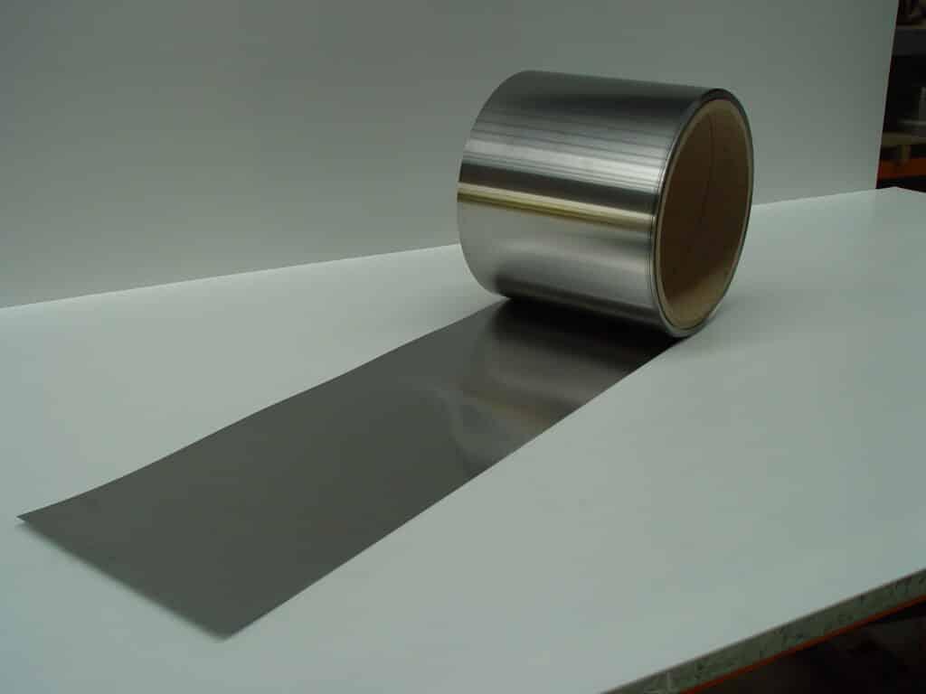 mild steel shim roll