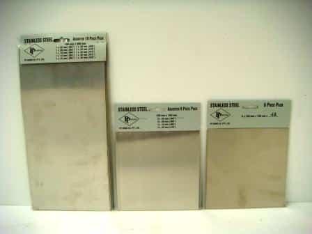 mild steel shim packets
